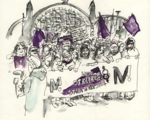 3_Zeichendoku_Frauenstreik